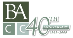 Barrington Area Chamber of Commerce 40th anniversary logo